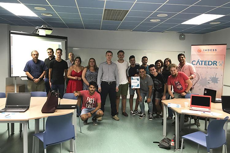 Cátedra Andalucía Emprende taller TIC imagen principal