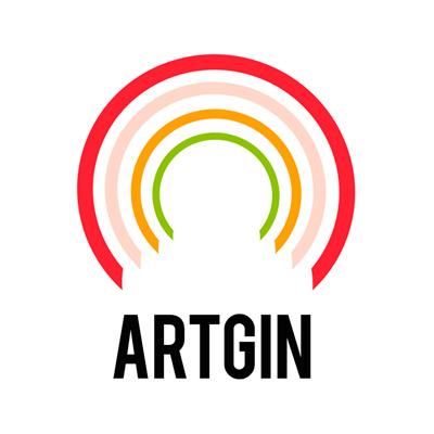 ArtGin logo galería